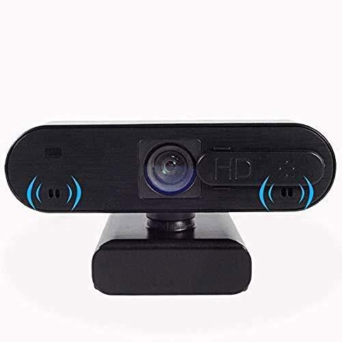 Faiol Vídeo HD Webcam USB, webcam de la computadora de escritorio de Anti-voyeur Beauty Live Broadcast cámara, ordenador portátil LCD Monitor de Llamada Chat webcam, estudiante de clase en línea, en l