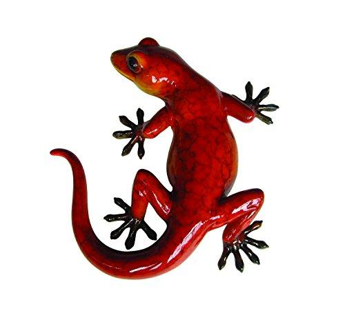 Vivid Arts Gartendekoration, Gecko, glänzend