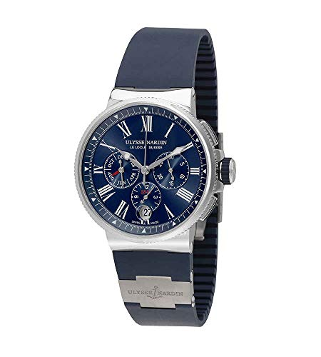 Ulysse Nardin Marine Chronograph Automatic Men's Watch 1533-150-3/43