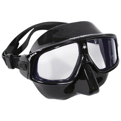 Aqua Sphere Sphera mask (black silicone) Black