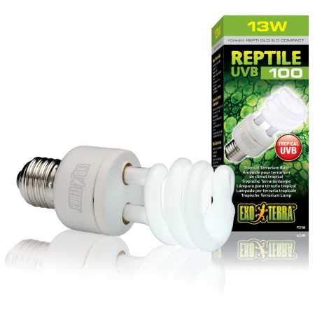 Exo Terra Reptile UVB 100 - Tropenterrarienlampe 13W