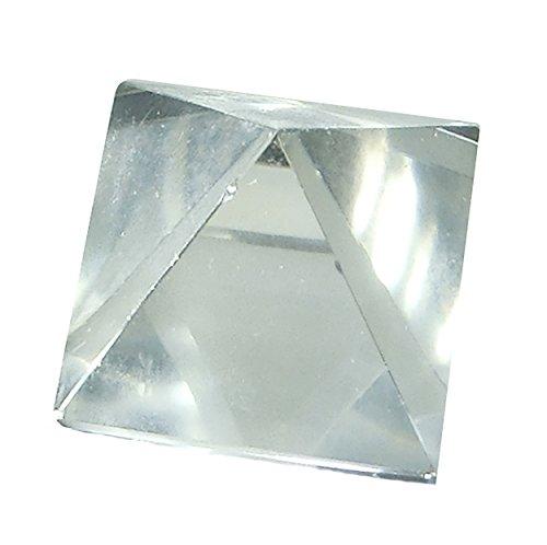 Bergkristal piramide 2x2 cm