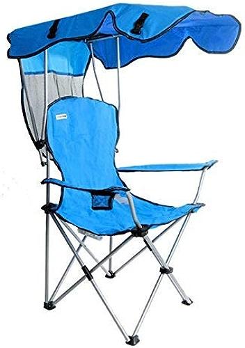 BAIF Chaise DE Camping EXTéRIEUR, Loisirs Ultra-Léger Portable Ombre Dossier Plage Pêche Pique-Nique De Camping Voyage Jardin Pêche
