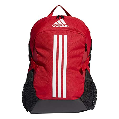 adidas Power V Sports Backpack, Scarlet/White, NS