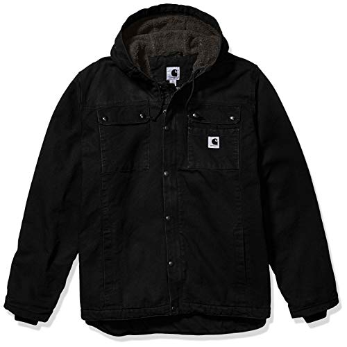 Carhartt Men's Bartlett Jacket (Regular and Big & Tall Sizes), Black, Large