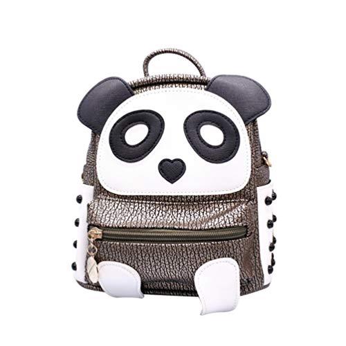 TENDYCOCO Femmes Mignon Petit Sac à Dos Panda