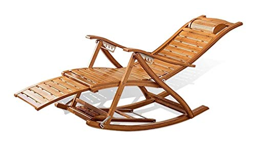 YYDD Comfortable Meditation Chair Rocking Chairs Home Adult Folding Lunch Break Lounge Chair Summer Nap Home Balcony Elderly Chair Massage Chair