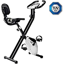 Merax exercise bike foldable for at home