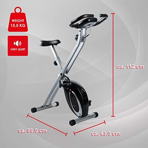 Ultrasport F-Bike et F-Rider, Hometrainer, entraîne tout le corps, entraînement cardio