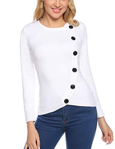 Aibrou Suéter Chaqueta de Punto Mujer,Cardigan Mujer de Cue
