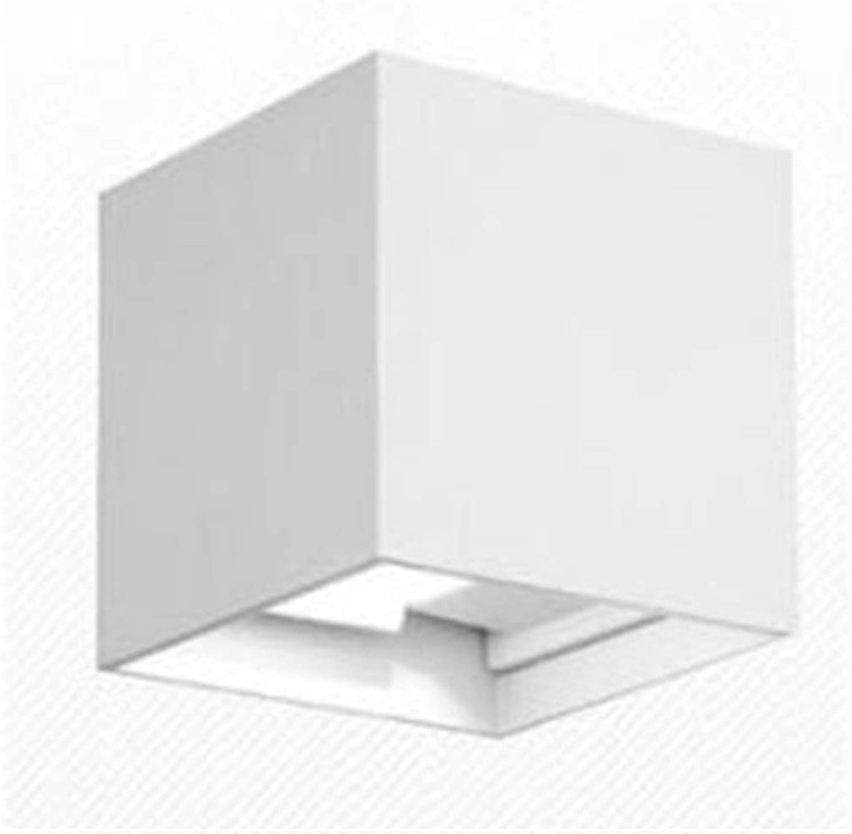 comprar marca WYFLM 7W LED Wall Light Light Light Up Down Lámpara de Parojo para Interiores IP65 Interior blancoo cálido ángulo de Haz Ajustable para Pasillo Salón Dormitorio Jardín  precios mas baratos
