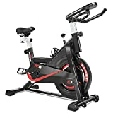 RELIFE REBUILD YOUR LIFE Bicicletta Cyclette Indoor Bike Ciclismo Bici da Fitness Resistenza Regolabile...