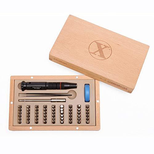 58 in 1 Präzisions Schraubendreher Set Reparatur Tool (Magnetische)für Handy, Tablet, PC, MacBook, Uhr etc