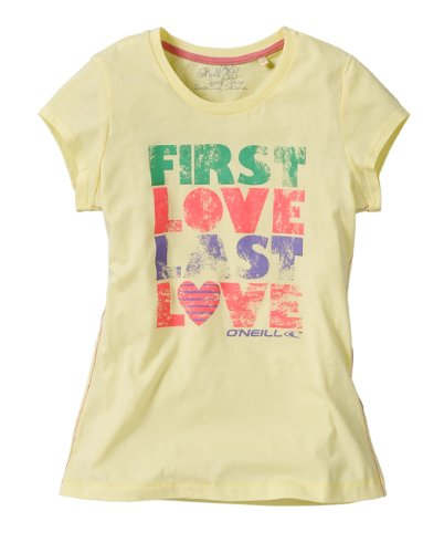O'NEILL 007253 Tender - Camiseta de Manga Corta para Mujer Amarillo Amarillo Talla:Small
