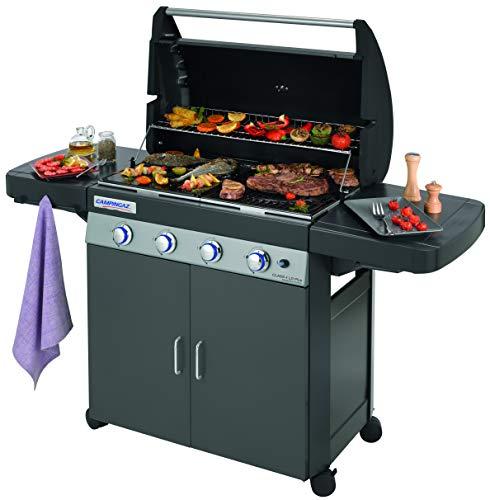 Campingaz Barbecue à gaz Class 4 LD Plus, 4 brûleurs, Puissance 12.8kW,Système de nettoyage...