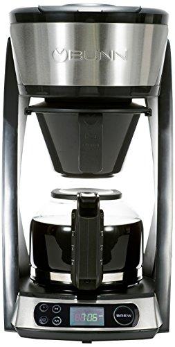 BUNN Heat N Brew Programmable Coffee Maker, 10-Cup, Stainless Steel