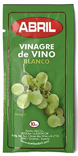 Sobre Vinagre de Vino Blanco Abril 10 ml - Caja de 150 sobres