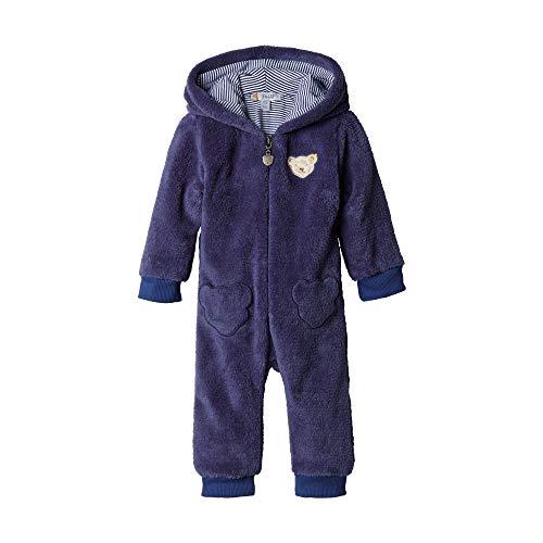 Steiff Baby - Jungen Spieler Einteiler , Blau (PATRIOT BLUE 6033) , 62 (Herstellergröße:62)