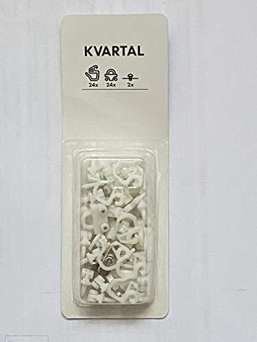 IKEA 24 Kvartal Gardinengleiter Gleiter für Schiebegardinen
