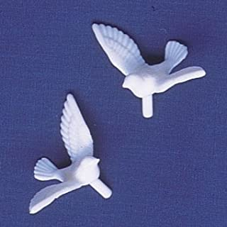 Oasis Supply 12 Count Dove Cake Decorating Figures