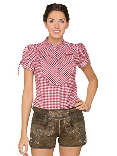 Stockerpoint Damen Hose Rosy Lederhose, Braun (Stein Geäscht Stein Geäscht), 34