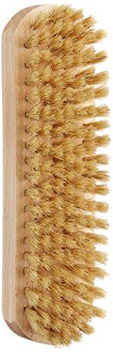 [ダスコ] シューケア ブリストル ピッグヘアブラシ 豚毛 靴磨き バッグ 塗りこみ ツヤ 浸透 ホワイト ラージ