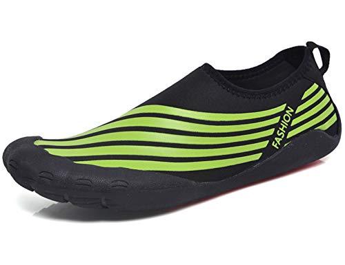 SINOES Zapatos de Agua para Hombre Mujer Buceo Snorkel Surf Piscina Playa Vela Mar Río Aqua Cycling Deportes Acuáticos Calzado de Natación Escarpines