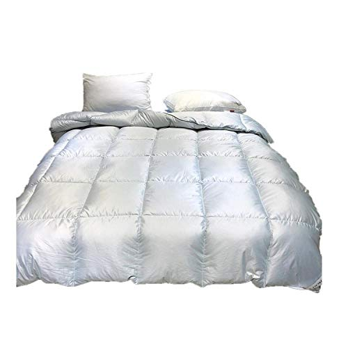 Hahaemall King Size Duvets 7.5 Tog Winter Warm Duvet Insert Classic Quilt Hypoallergenic-Anti allergen-Washable at Home-Classic-Duvet Quilt-gray_200x230-4000g