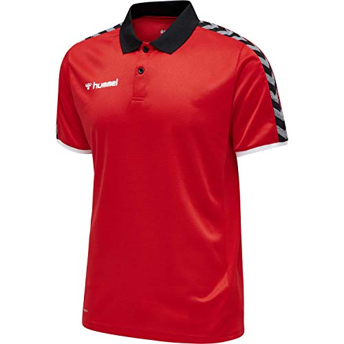 Hummel Herren hmlAUTHENTIC Functional Polo, True Red, 4XL