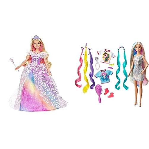Barbie Dreamtopia Principessa Gran Galà, Bambola Con Accessori, Giocattolo Per...