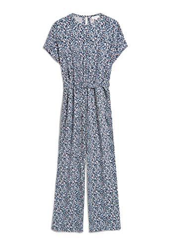 ARMEDANGELS VIBEKKAA Primrose - Damen Jumpsuit aus LENZING™ ECOVERO™ S Foggy Blue Hose Jumpsuit Regular fit