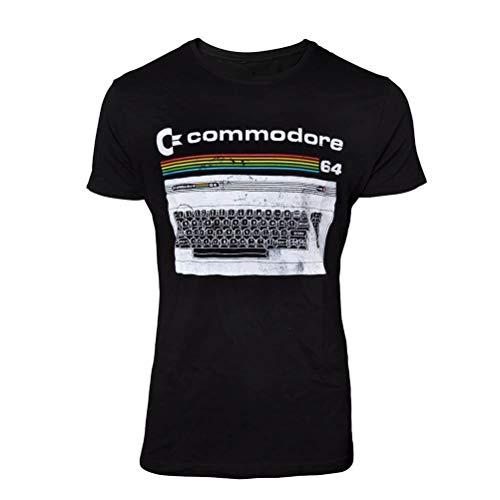 Bioworld Commodore 64 - Classic Keyboard T-Shirt XL