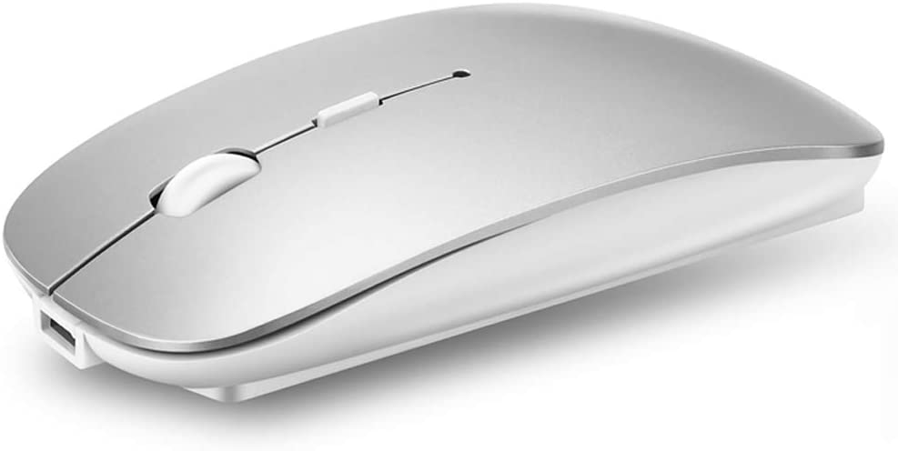 QIJIAYI 2.4GHz Wireless Bluetooth Mouse Slim Recharge Dual Mode Brand Cheap Sale Venue San Diego Mall