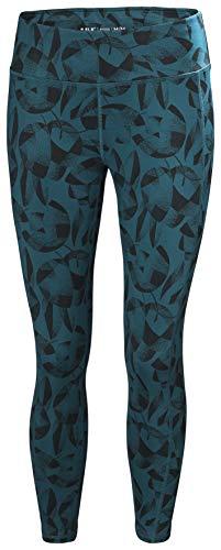 Helly Hansen W Verglas 7/8 Tights Pantalones, Mujer, Estampado de Flores, L