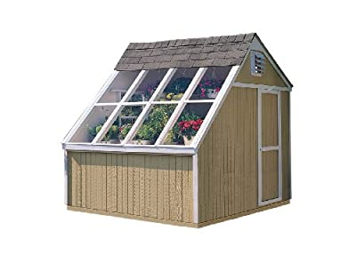 Handy Home Products 10-Feet by 8-Feet Phoenix Solar Shed