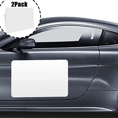 2Pack Car Blank Magnets, Suitable for Car Advertisements, Vehicle Magnetic Signs are Scratch-Resistant, and Can Be Used Repeatedly