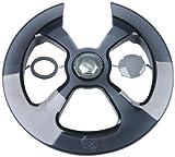 CAGO Sonstige 2282793800 Kettenschutzscheibe, schwarz, 20 x 20 x 20 cm