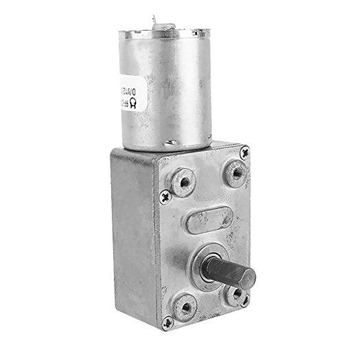 Milageto Motor de Reducción de Caja de Engranajes Helicoidales Eléctricos de Eje de 24 V CC SELECCIÓN - 6rpm