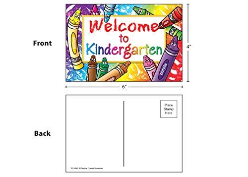 Teacher Created Resources Welcome to Kindergarten Postcards (4860),Multi Photo #2