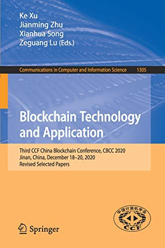 Blockchain Technology and Application Front Cover