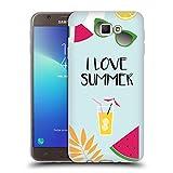 Head Case Designs sous Licence Officielle Martina Illustration J'aime Summer Vibes Coque en Gel Doux...