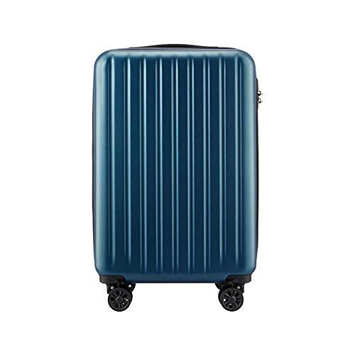 XYSQWZ Tronco Viaje Vacaciones Contraseña Caja Superficie Mate Silencio Rueda Universal Refuerzo Trolley Estuche Transpirable/A / 415 * 250 * 610 Mm Ruedas para Exteriores