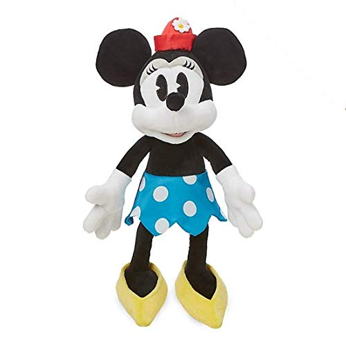 Juguete de peluche suave vintage Disney Minnie Mouse oficial