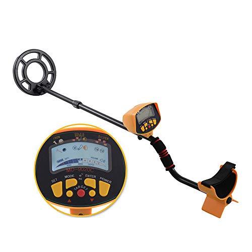 HUKOER MD-9020C Detector de metales de alta precisión Buscador de metales Gold Digger Bobina de búsqueda impermeable Búsqueda del tesoro para la detección de metales bajo el agua
