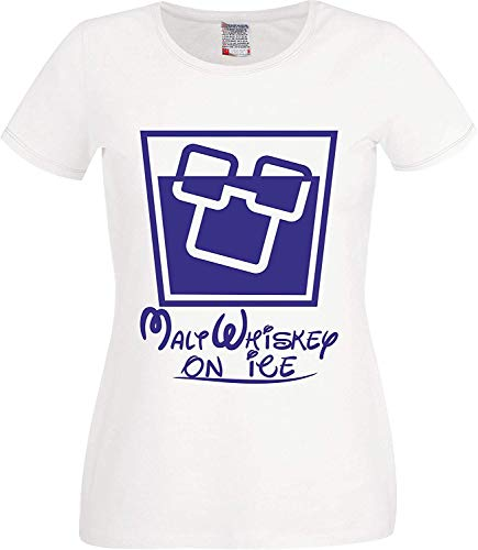 Mum mip S Wives Girlfriends zusters Magische Malt Whisky op IJs Kerstmis T-shirt