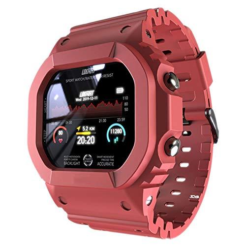 AKL Ocean Smart Watch Fitness Tracker Presión Arterial Mensaje Push Heart Rate Monitor Reloj Reloj Inteligente Hombres y Mujeres,A