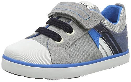 Geox Baby-Jungen B Kilwi Boy B Sneaker, Grey/AVIO, 23 EU
