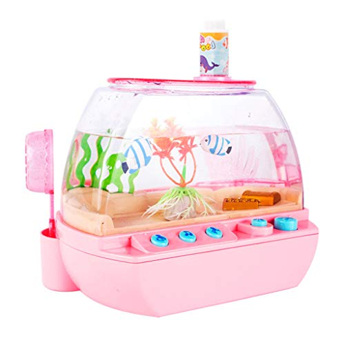 Great Features Of Anyren Kids Simulation Aquarium Interesting Fish Farming Toy Children's Emulation ...