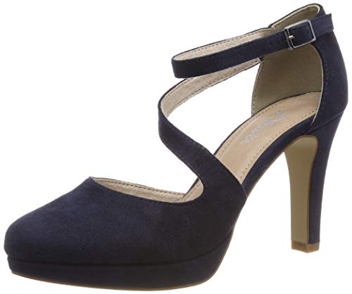s.Oliver Damen 5-5-24420-32 805 Pumps, Blau (Navy 805), 39 EU