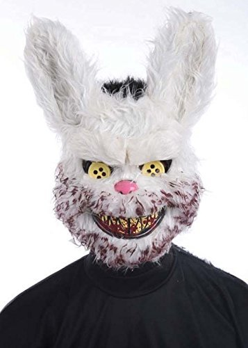 Masque Halloween effrayant Zombie lapin